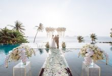 Zou Yiming and Wu Yu wedding at Conrad Koh Samui by BLISS Events & Weddings Thailand