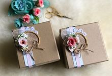 Rustic Wedding Favours by Box Tale