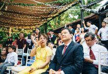 Starry Night for Derek and Van Mi by MerryLove Weddings