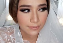 Cempaka (Wedding Airbrush Makeup) by MarisaFe Bridal