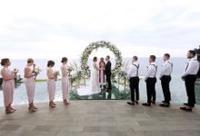 The Wedding of Laura and Nenad by Happy Bali Wedding