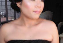 laurine n martin prewedd by Lan Lan makeup & Hair Stylist