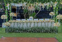 Wedding dinner 80 Orang by Sekar Jagat Bali