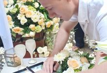 The Wedding of Dima & Julia by The Beyond Bali