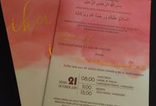ika & iman invititation by xime wedding card
