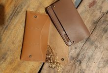 Travel wallet by PERKISS Leather Gift & Favor
