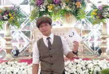 Modern wedding party by Bagus Priyo Laksono MC