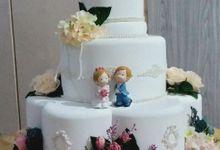 wedding cake 3 tier by VeNu Cake
