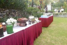 Adiel N Bogi Wedding by Nykris Catering