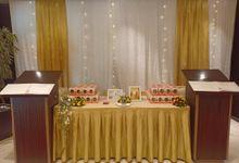 Wedding Adi & Silvi. .. 22.3.2020 by Orchardz Hotel Jayakarta