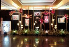 Intimate Wedding Nadhil & Esti by Financial Club Jakarta