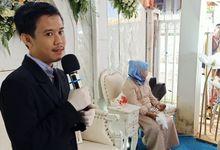 Akad dan Resepsi Pernikahan Rifan Adrian dan Nur Riszeki Amalia by Panji Nugraha MC