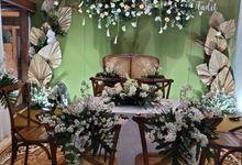 Akad Nikah Intimate by Flowerdecor70