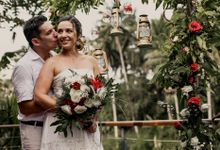 Muriel and Herve Renewal of Vows in Bali by Happy Bali Wedding