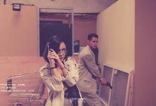 Hongkong Detective 80's Prewedding Concept by AkuKamu Photography