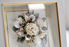 Classic Small Bouquet by Camila V Flower Preservation Studio