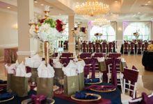 wedding Crystal Ballroom at Sunset by Svetune