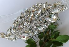 BrIdal Jewelry-Hair Combs by Pamela Falli