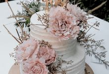 The Wedding of Ayu & Kevin by KAIA Cakes & Co.