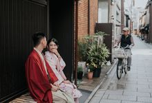 Handi & Christina Japan Prewedding Session by Enfocar