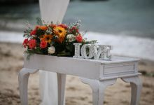 Intimate Renewal of Vows Ceremony by Happy Bali Wedding