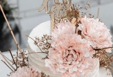 Wedding of Ayu & Kevin by KAIA Cakes & Co.