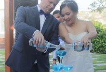 Brendon & Yvonne Wedding by Four Points by Sheraton Bali, Ungasan