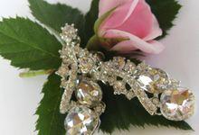BrIdal Jewelry-Bridal Earrings by Pamela Falli