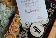 Archilla Bridesmaid Card and Plaque by Urimemento Indonesia