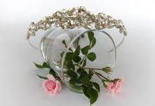 Bridal Tiara by Pamela Falli