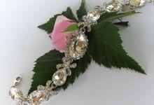 Bridal Bracelets by Pamela Falli