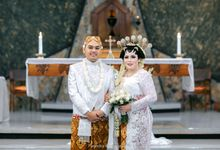 Sicilia & Wisnu Intimate Holy Matrimony by ELOIS Wedding&EventPlanner-PartyDesign