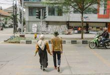 The Prewedding of Hana and Ilham by byasa photo