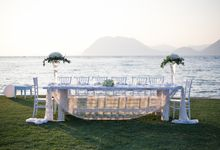 Beach wedding by Diamond Events