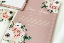 From the wedding of Ririn & Diaz by Moria Invitation