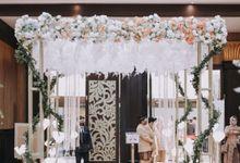 Vania & Adhitya by Grand Slipi Convention Hall