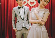 The Wedding of Okta & Gabriel by makeup by marcellans