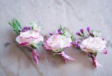 Corsages & Boutonniere by Flowers and Fables