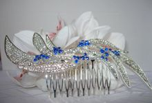 Bridal Hair Comb by Pamela Falli