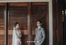 Holy Matrimonity of Danis & Monica by Skenoo Hall Emporium Pluit by IKK Wedding