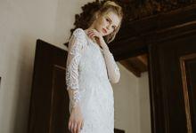 Amandier Lace White dress by Espoir Studio