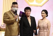 Engagement of Chelsea & Yusak by JIMMY & LIECHEN MC and Magician Wedding Specialist