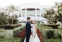 Elegant destination wedding by Alesia Solo Make Up Artist & Hairstylist