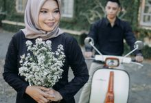 Prewedding Izar Silvi by Sarah MakeUp Studio