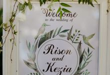 The Wedding of Rison & Kezia by Red Gardenia