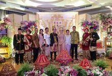 RESEPSI PERNIKAHAN TIFA & ADE by Sejiwa Wedding Organizer