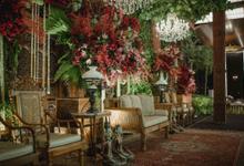 Compilation of Javanese Decoration at 10th Floor by  Menara Mandiri by IKK Wedding (ex. Plaza Bapindo)