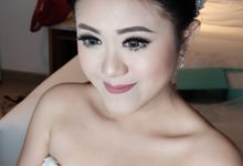 Wedding Makeup for Ms Margareth by VONYTJAN
