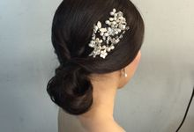 Bridal makeup & hairstyle by Ms Rouge