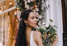 Brooklyn wedding by Marina Dubrovina makeup and hairstyling